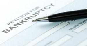 company files Bankruptcy