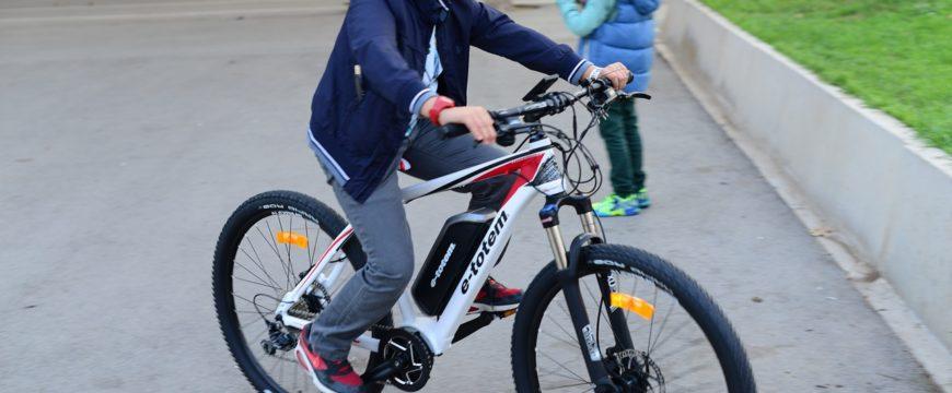Ebike riding
