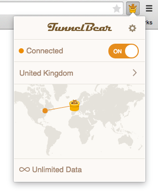 TunnelBear for Chrome