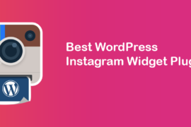 WordPress-instagram-widget-plugins