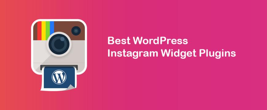WordPress-instagram-widget-plugins